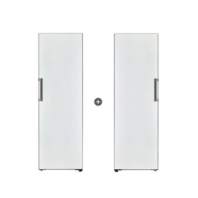 LG 오브제컬렉션 화이트컬러 컨버터블 냉장고+냉동고(384l+321l) 패키지렌탈
